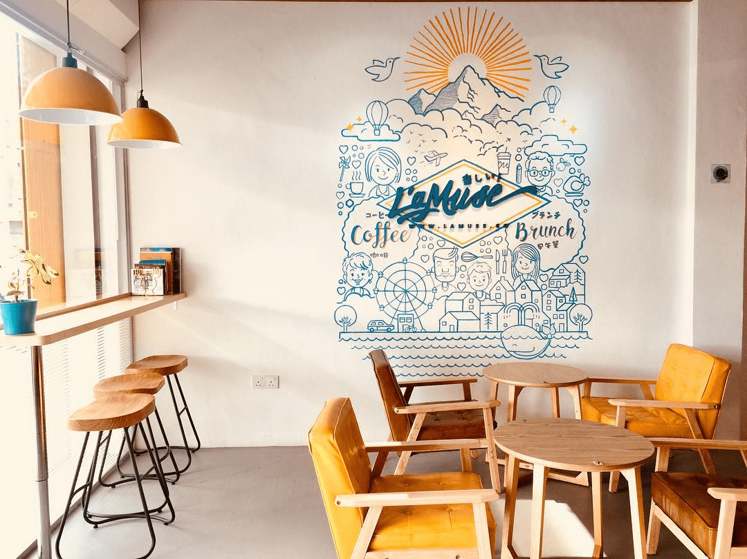Lamuse coffee - interior