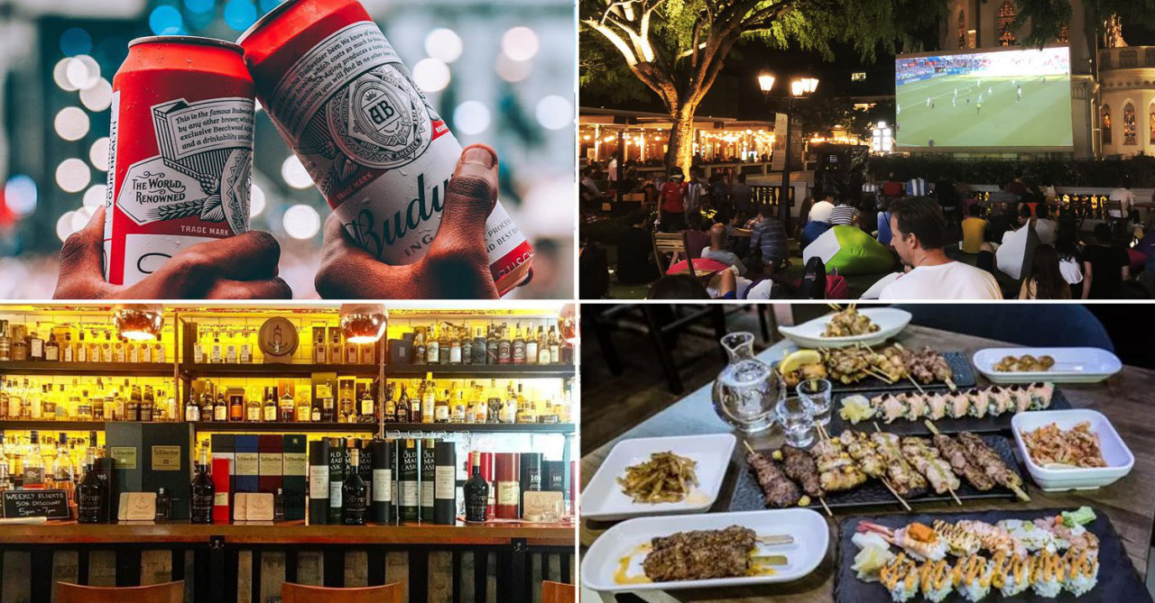 Catch The World Cup 2018 Live At CHIJMES With $49++ Beer Buckets & All-Night Happy Hour