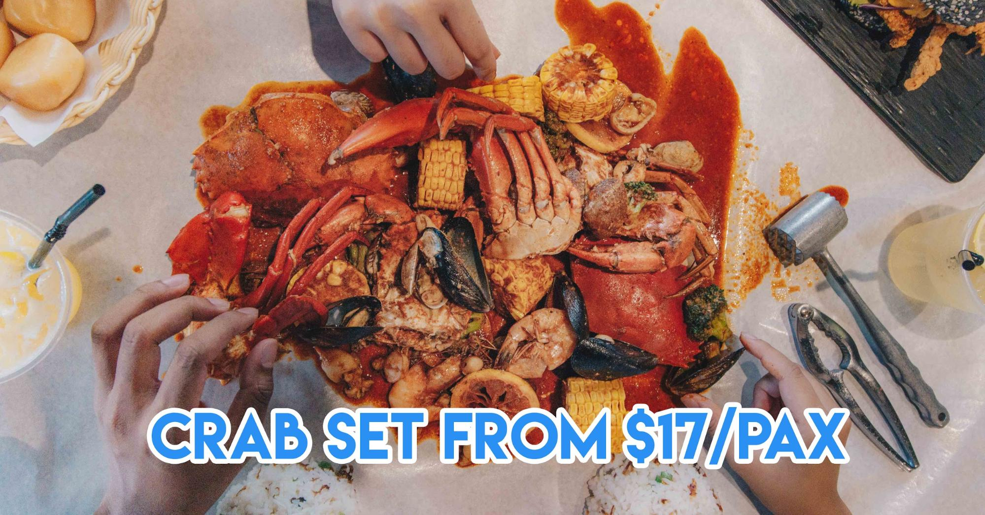 Crab Factory In JB Is An Affordable Halal Seafood Restaurant Just 20 Minutes From City Square Mall