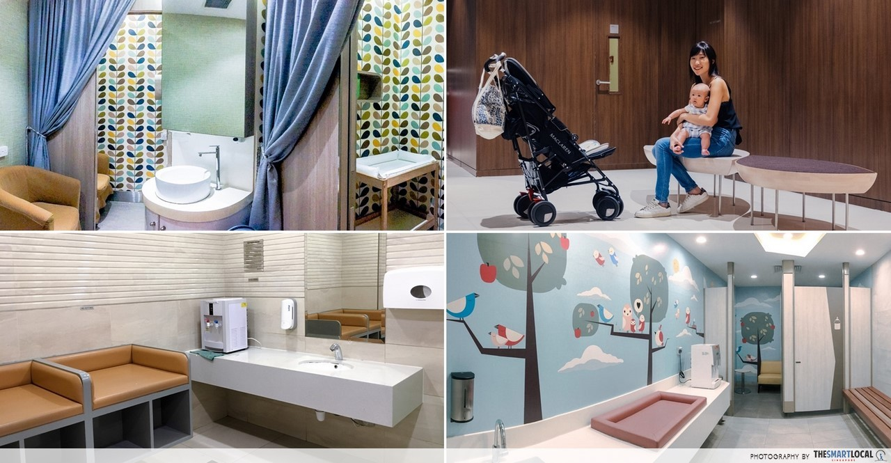 17 Nursing Rooms In Orchard For Singaporean Mums To Freely Shop With Baby In Tow