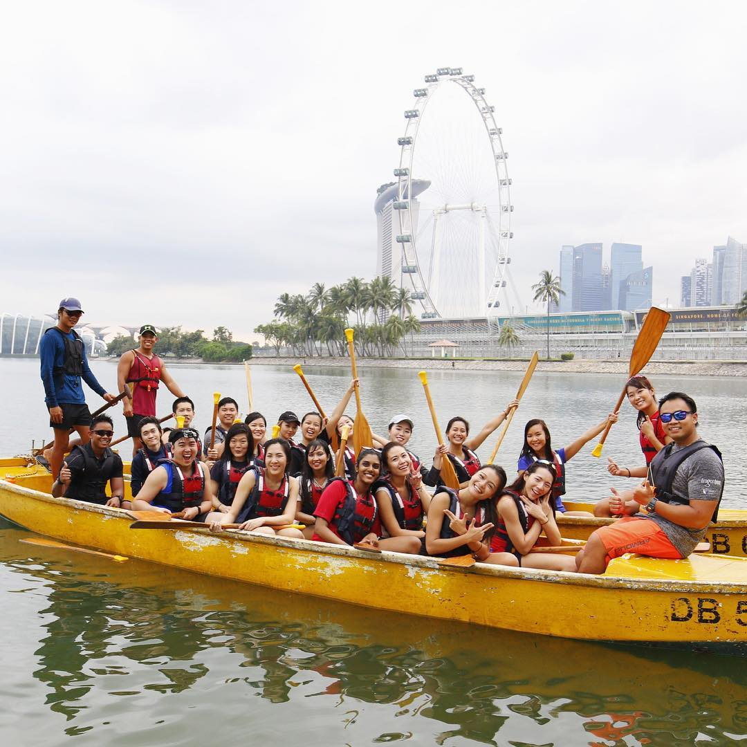 where to dragon boat in singapore