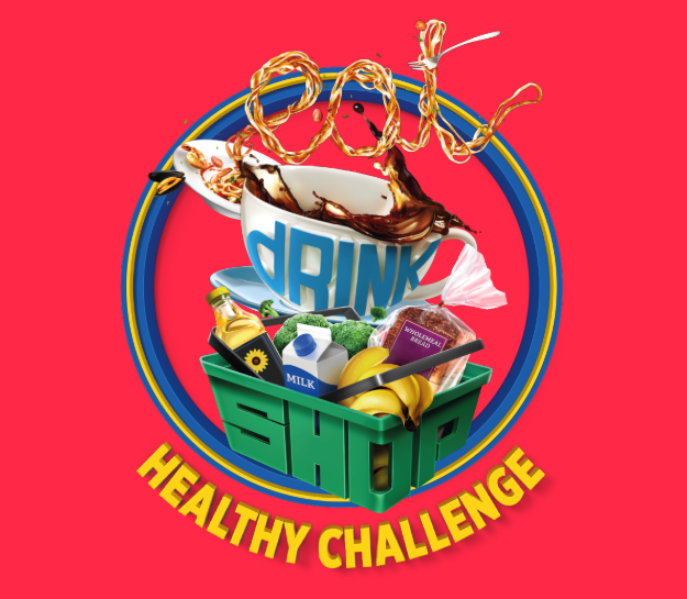eat drink shop healthy challenge