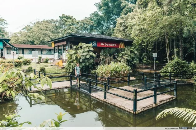 Queensway Ridout Tea Garden McDonald's
