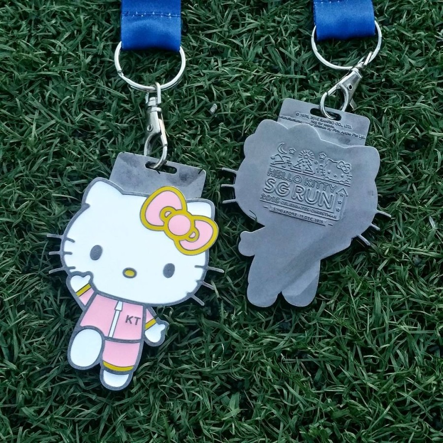 Hello Kitty Run - medals