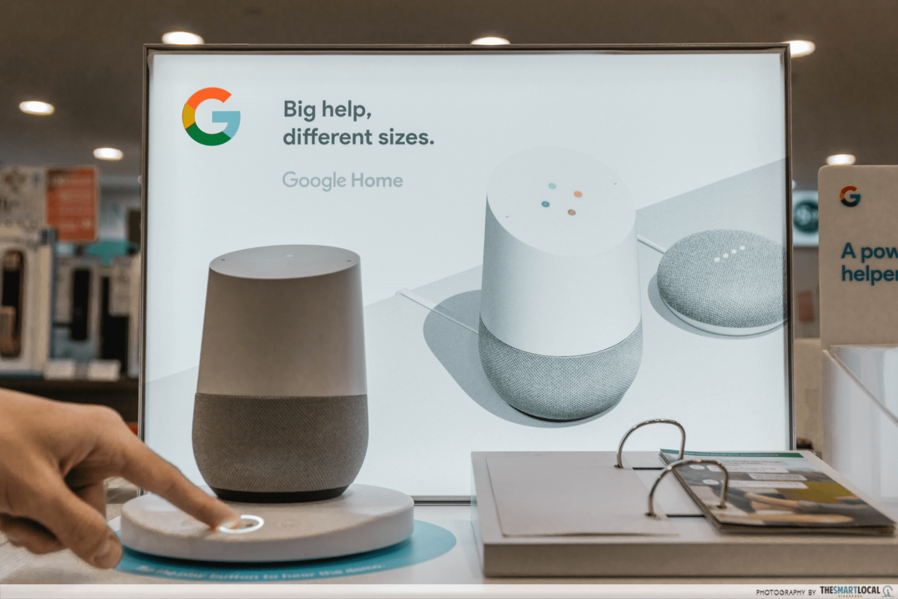 smart home devices - google home