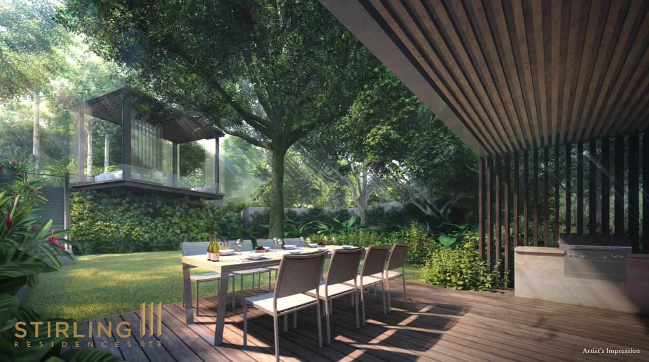 Stirling residences garden