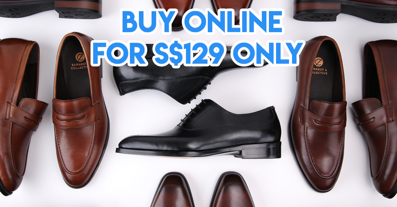 E-Retailer Earnest & Collective Specialises In Affordable Leather Shoes And They Now Have A Pop-Up