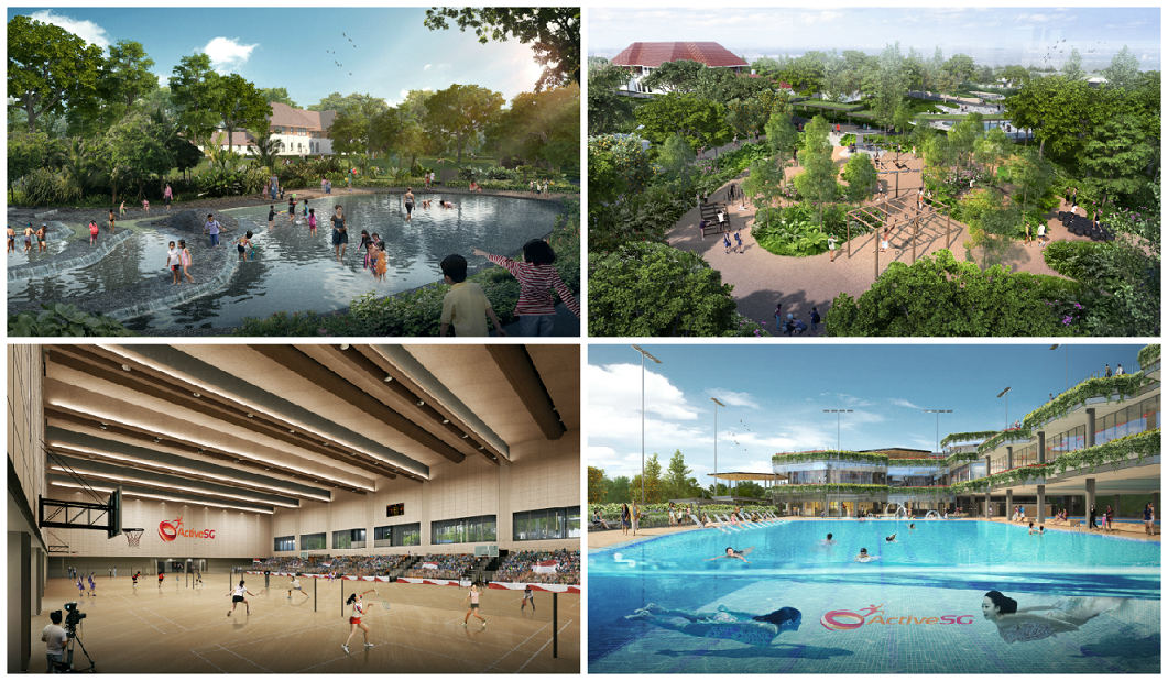 Sembawang Has A New Sports Hub With Condo Level Facilities For Its Residents