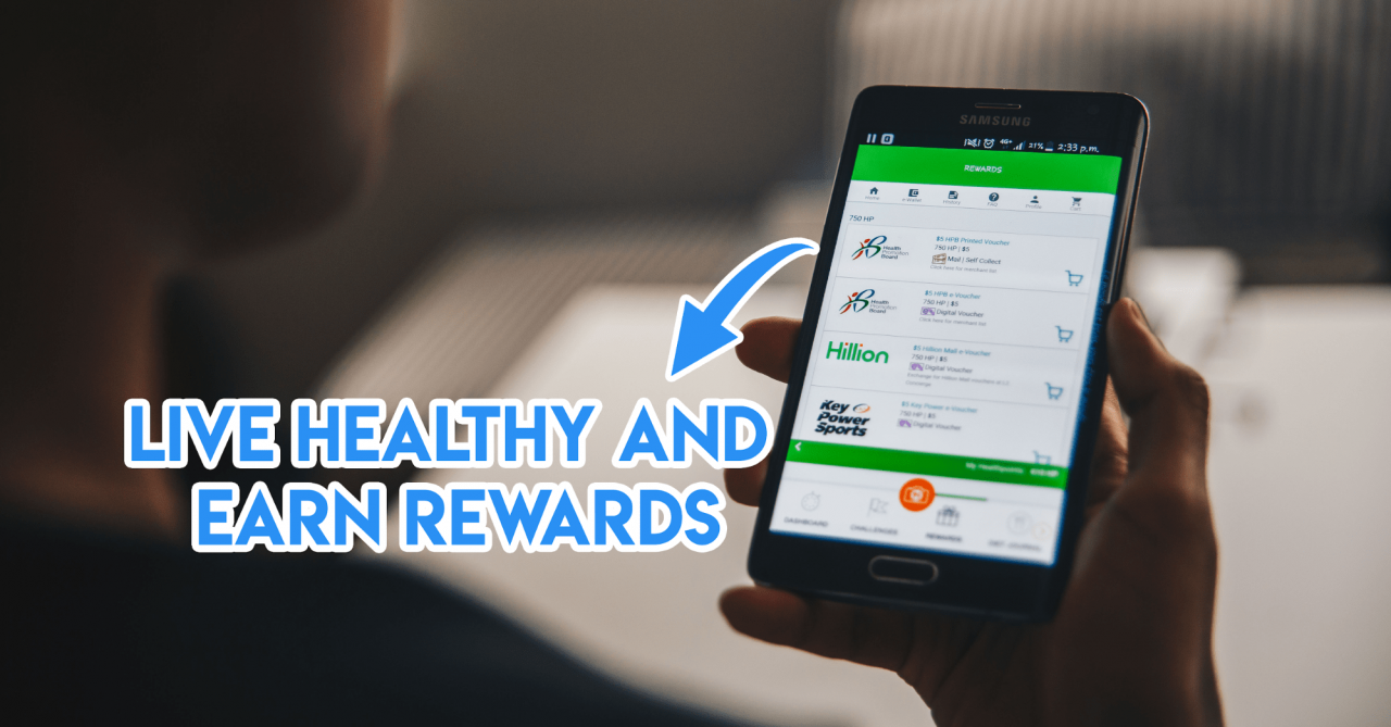 I Chalked Up 1360 Healthpoints Easily To Redeem Lazada And Dining Voucher Value Hotel Indonesia Vouchers Thesmartlocal
