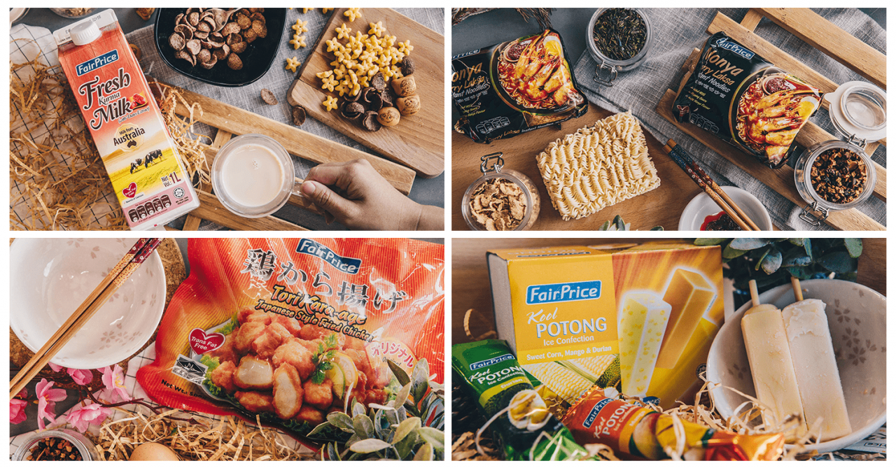 6 Food Products From FairPrice housebrand For High SES Taste Buds On A Budget