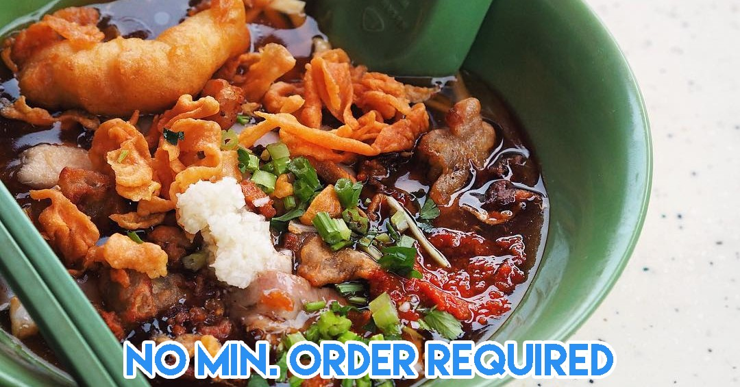 WhyQ Delivers Hawker Food From Chomp Chomp, Tiong Bahru Market, And Amoy St Food Centre