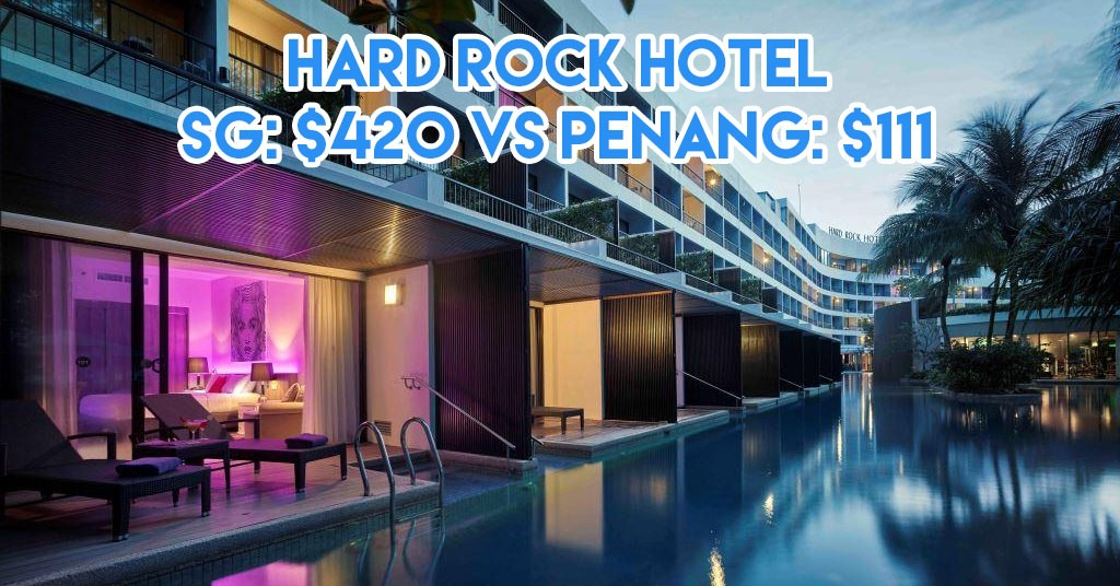 Hard rock hotel sg vs penang