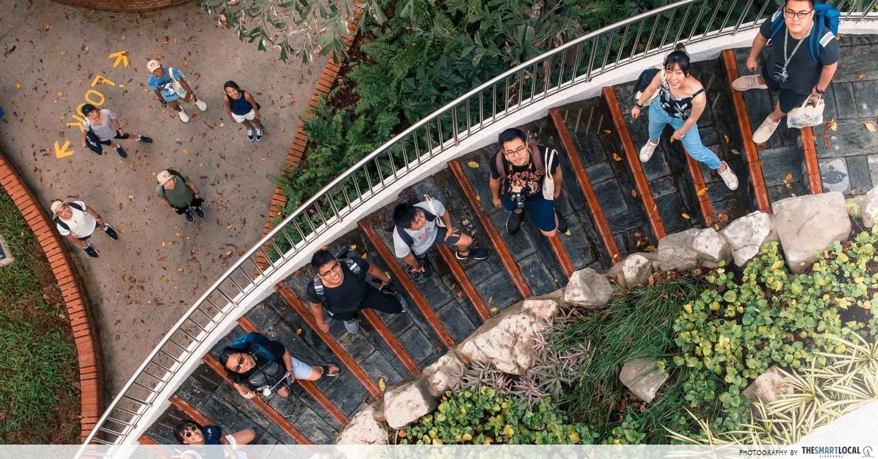 Marsiling Park & Singapore Botanic Gardens Instawalk - Exploring Green Spaces Through Different Lenses