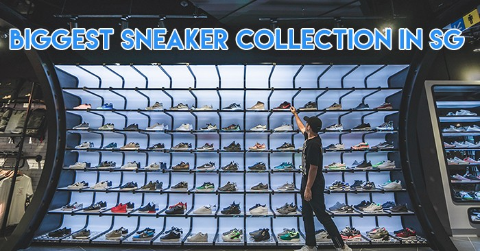 Biggest sneaker collection in singapore