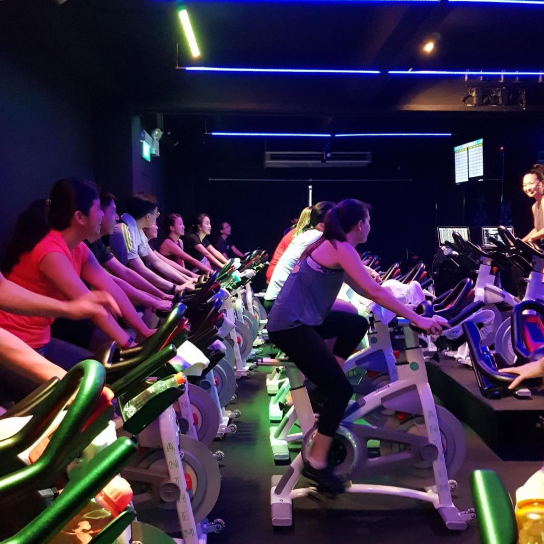 spin class - Anthem group training