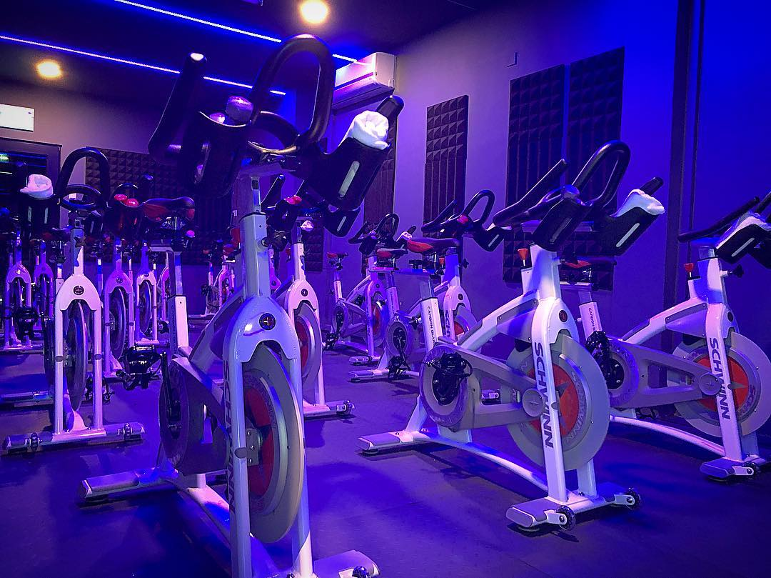 Spin class - Sync Cycle bike