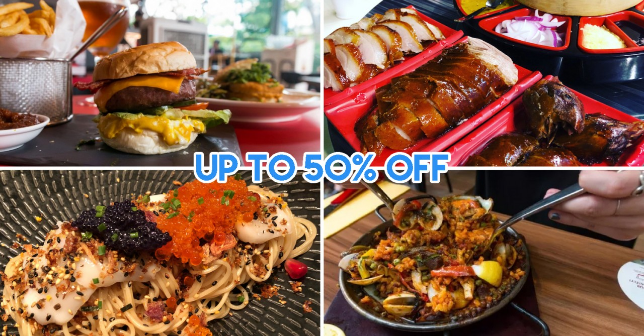 Chope dining discounts with DBS/POSB