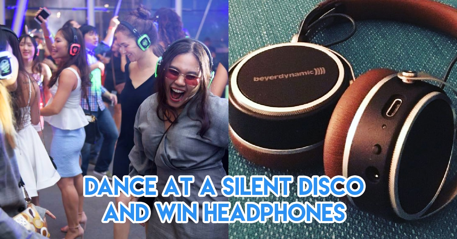 win headphones in silent disco challenge