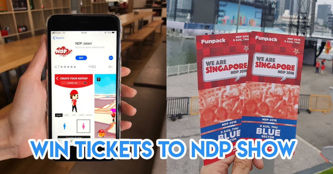 There Is A Game App For NDP'18 That Works Like Pokemon Go With Prizes To Be Won