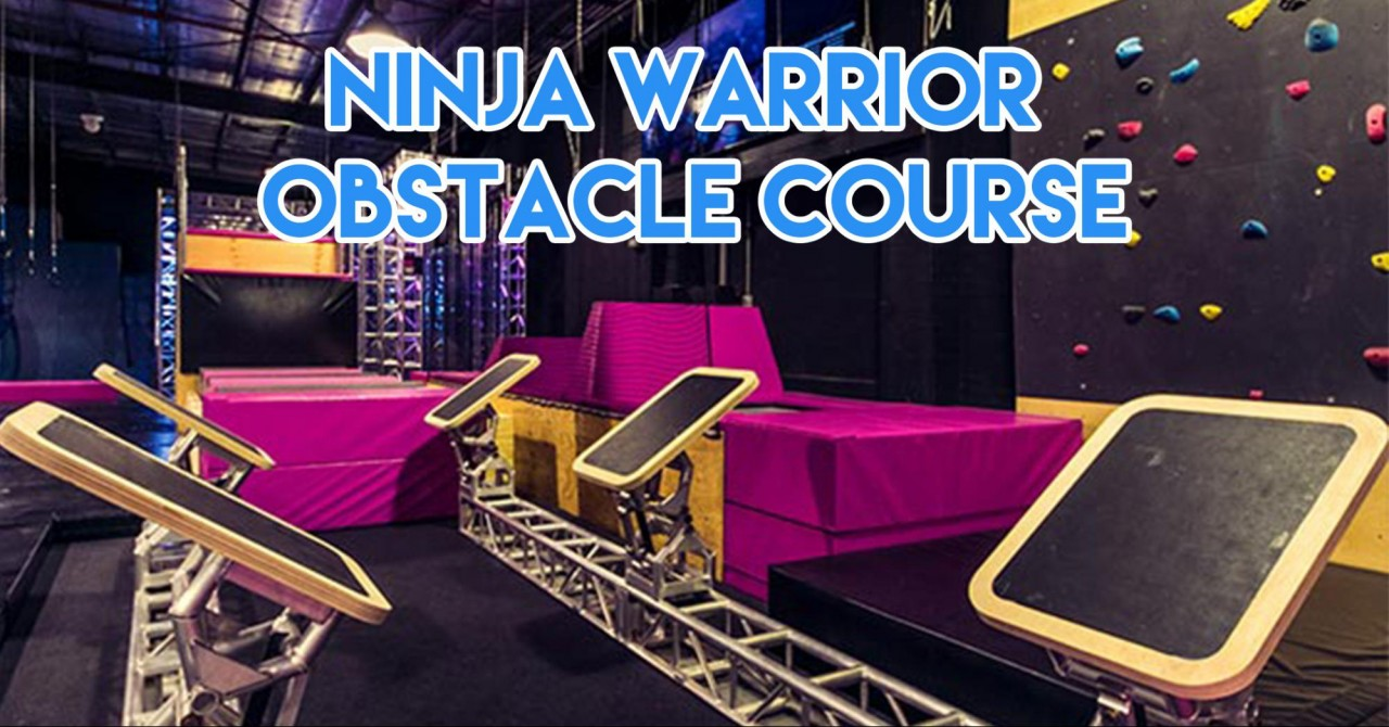 Trampoline park -  ninja warior cover image