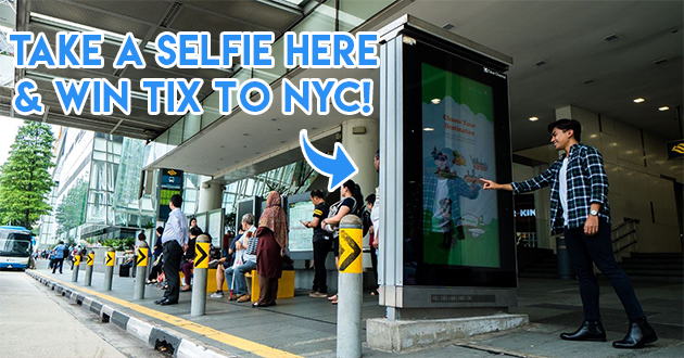 EVA Air's Contest Lets You Win Flights To America By Taking Photos At This Bus Stop Before 15 August