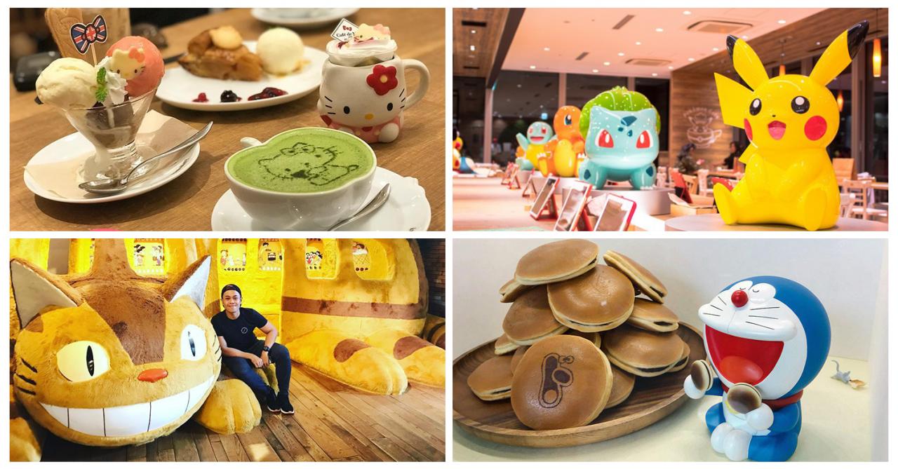 8 Popular Anime Themed Cafes In Tokyo - Pokémon, Hello Kitty & Studio Ghibli