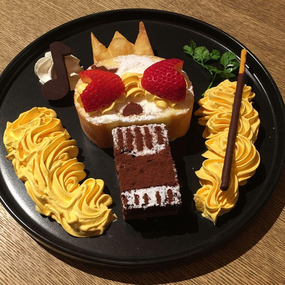 Anime Cafes Tokyo - One Piece Cafe Food
