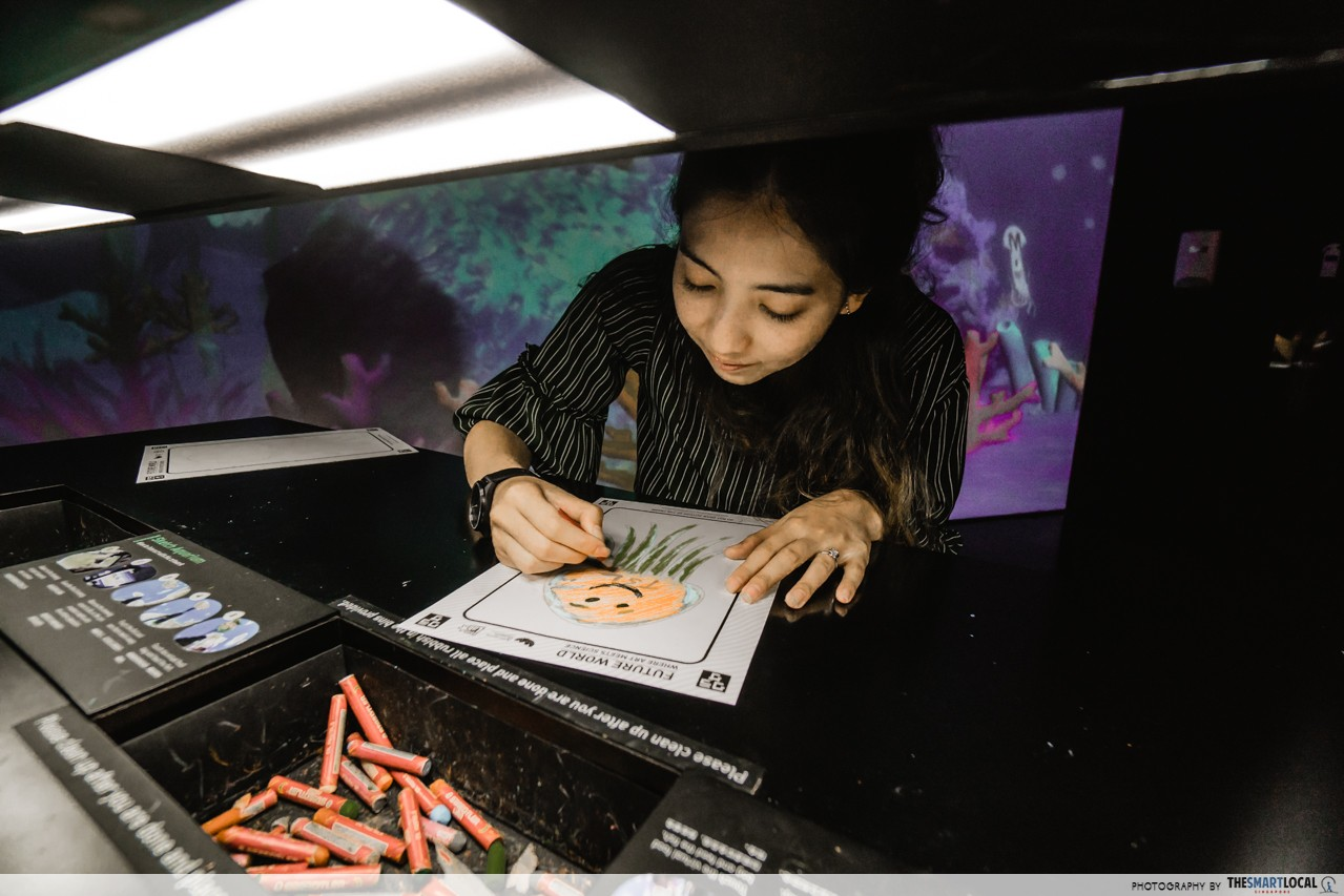 ArtScience Museum - Sketch Aquarium
