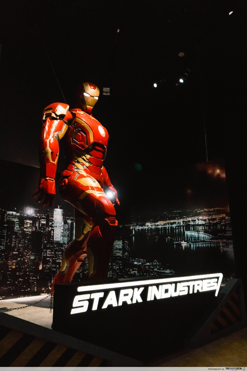 ArtScience Museum - Marvel Studios - Iron Man