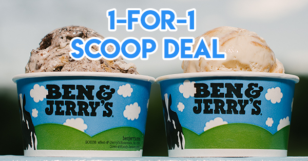 Ben & Jerry's Has A 1-for-1 Deal On 5 Aug For You To Share The Love With Your BFF