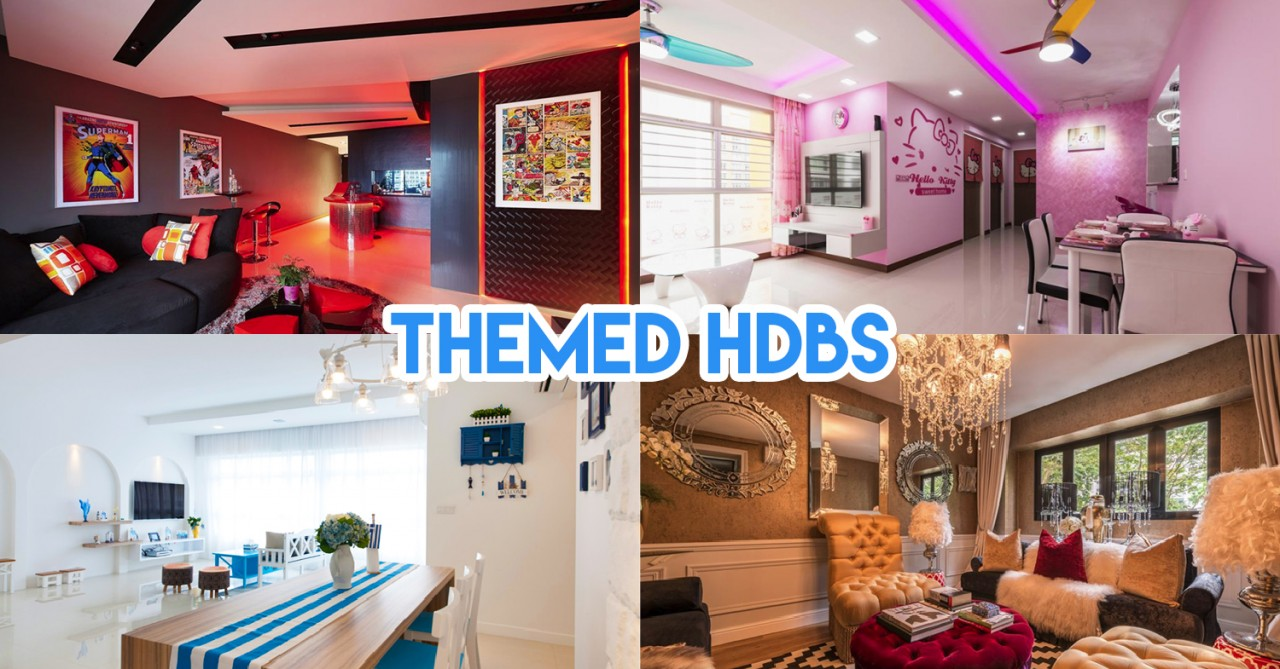 8 Themed HDB Flats In Singapore To Put On Your BTO/Resale Moodboard