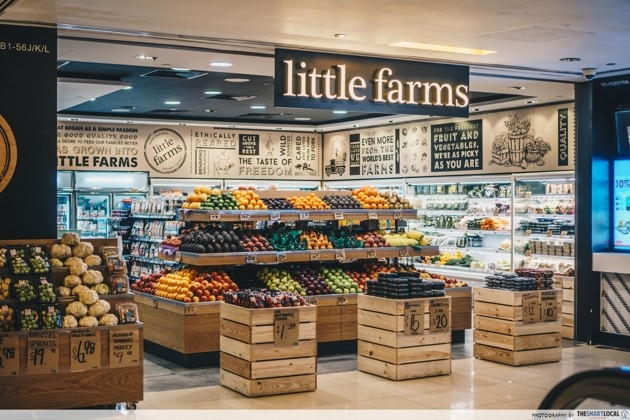 Little Farms - United Square - natural, whole foods