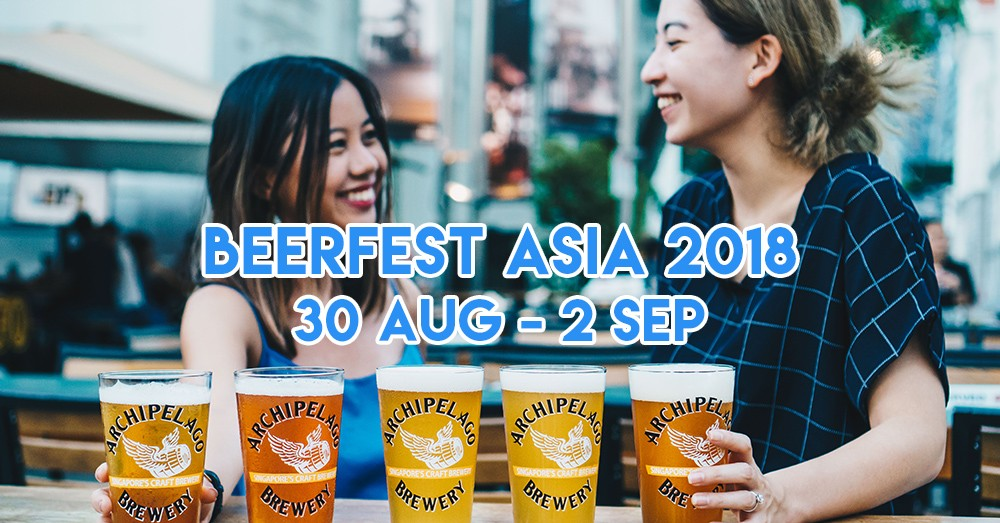 Beerfest Asia 2018 Has A $110 VIP Pass For Free Flow Beer If You Can Easily Finish A Tower