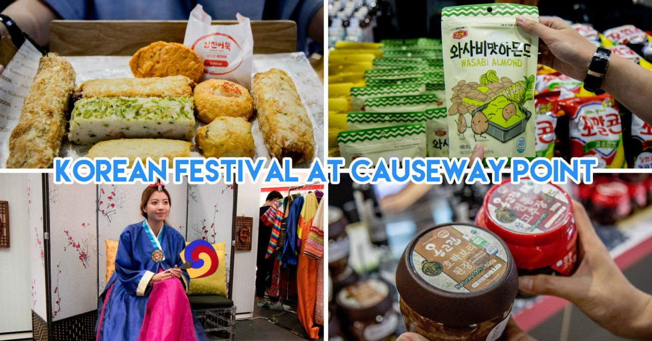 Causeway Point Goes All Things Korea With Kimchi Making Workshop & Hanbok Photo Booth