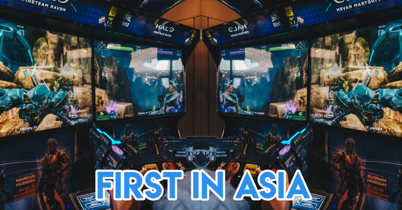 Halo's First Ever Arcade Game Is Now In Timezone VivoCity And Has A 4-Player Co-Op Mode