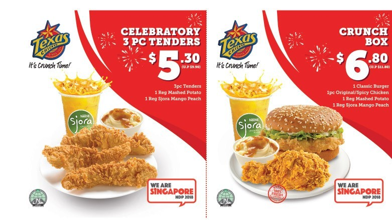 Image result for texas chicken marketing coupon