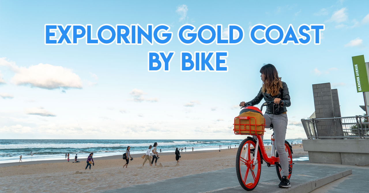 9 Places In Gold Coast To Explore On A Bicycle If You Don't Have A Driving License