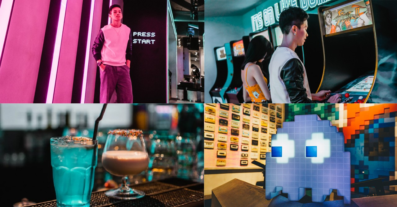 NINETEEN80 Is A NEW Retro Arcade-Bar With Games Like Street Fighter, Pacman & Space Invaders