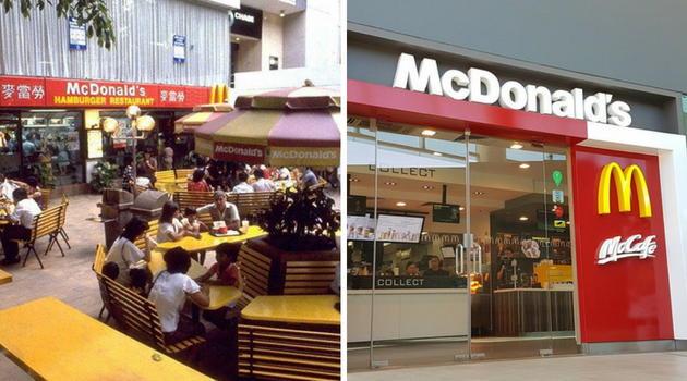old new singapore macdonalds
