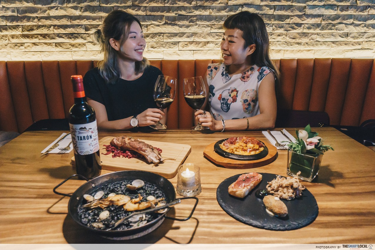 The Winery Tapas | Bar at CHIJMES - Singapore Night Festival