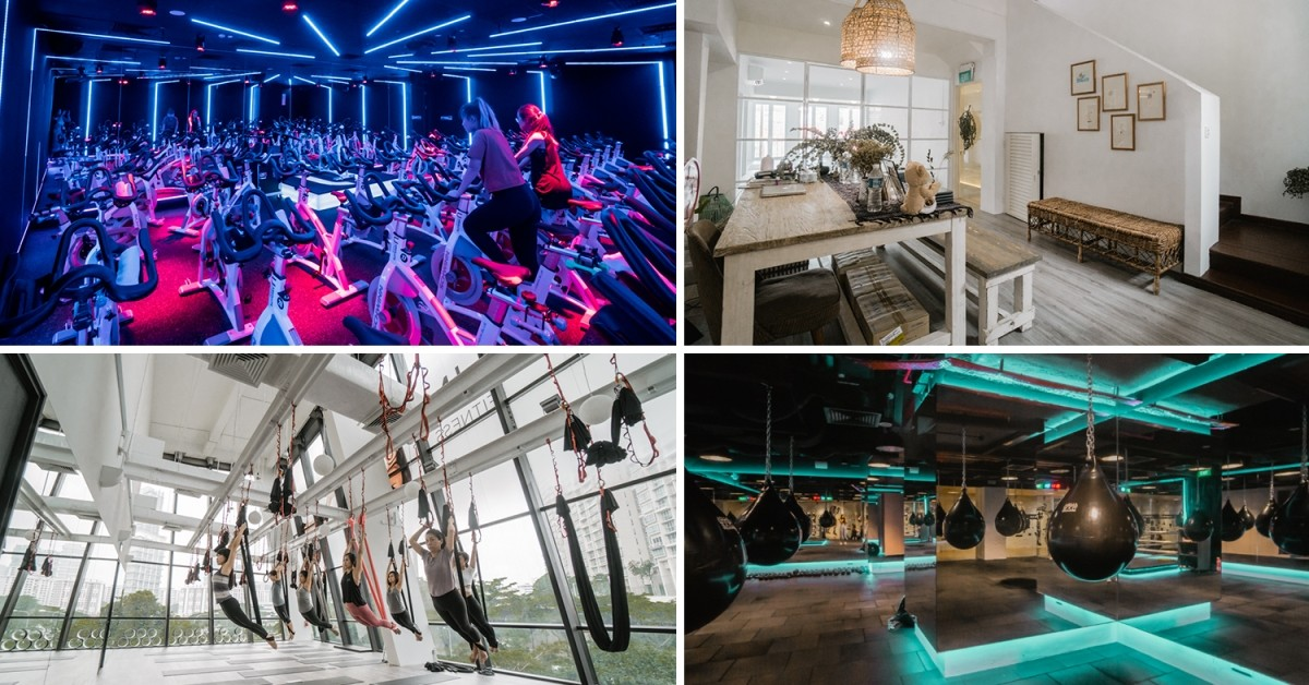 9 Gorgeous Boutique Fitness Studios In Singapore To Work Out In Style