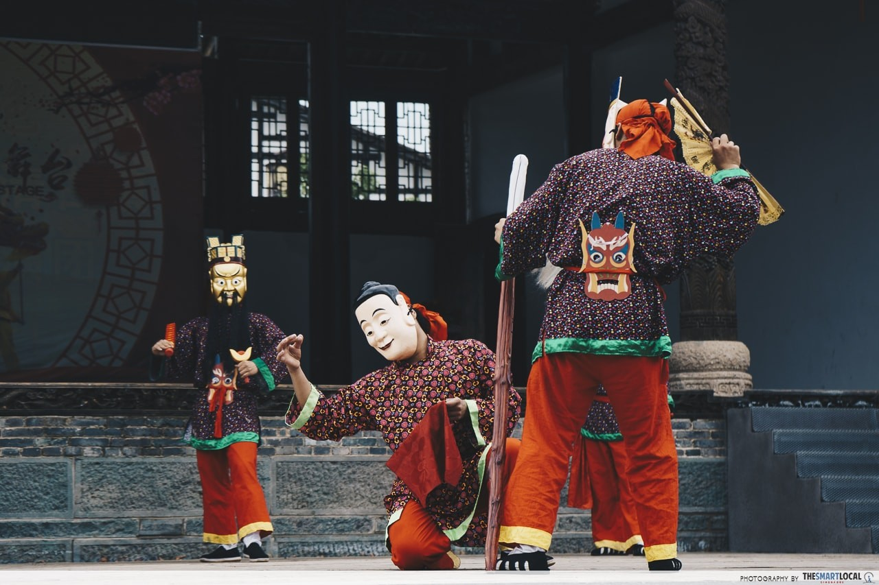 traditional dancing shangqing