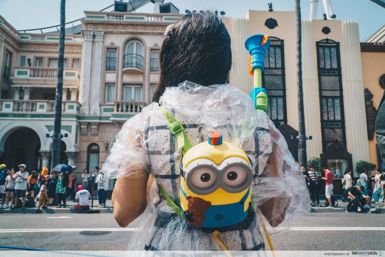 USJ -  minion backpack