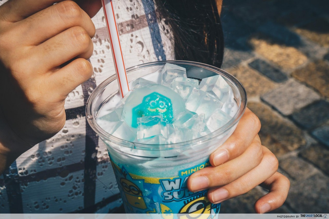 USJ -  minion jelly drink