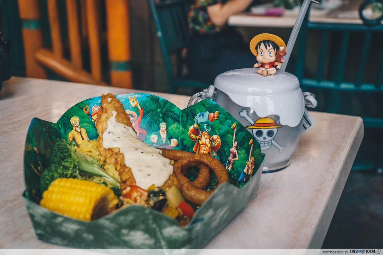 USJ - one piece straw hat crew feast restaurant