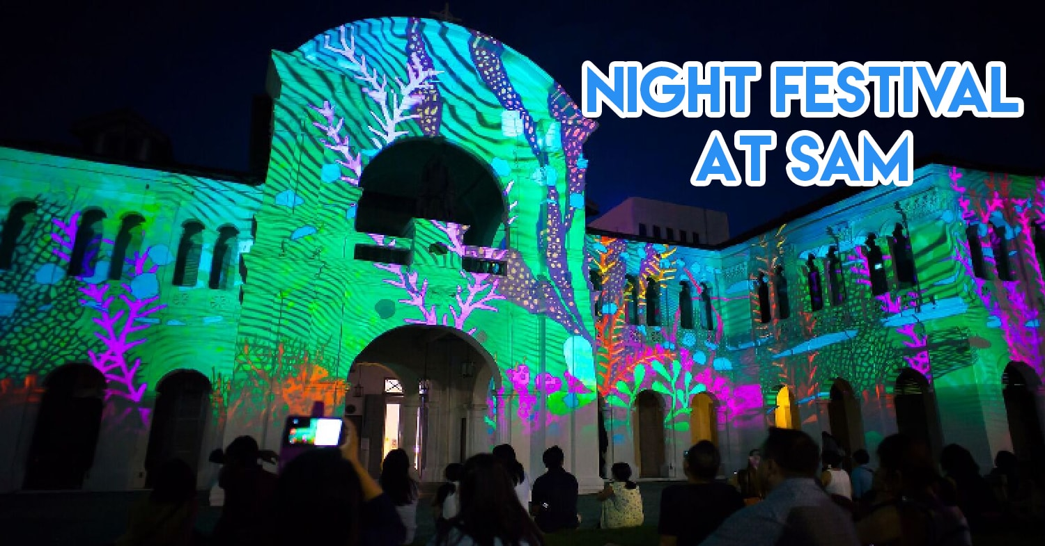 Singapore Art Museum Is Having Free Entry During Night Fest With Film Screenings, Craft Workshops & More