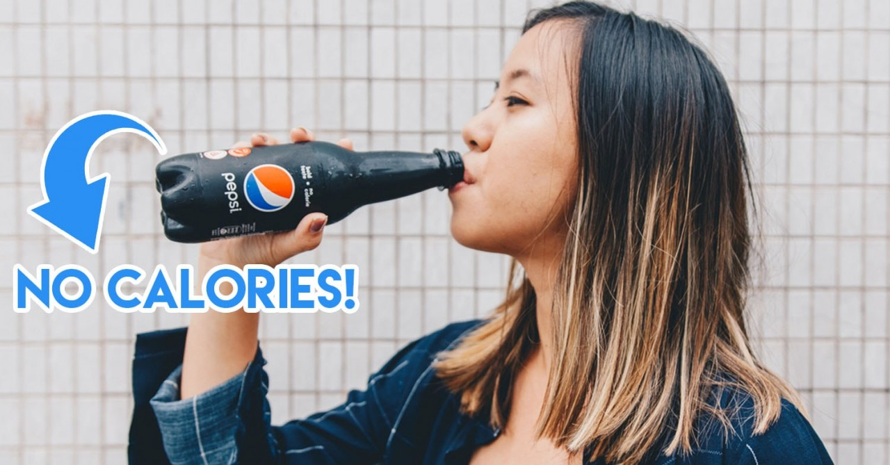 Pepsi Has Launched A New 0-Calorie Cola That You Can Drink Without Guilt