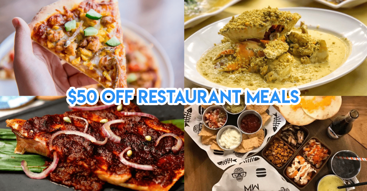 Get Up To 50% Off + Additional $50 Off With Chope Deals At Selected Restaurants This Aug & Sep