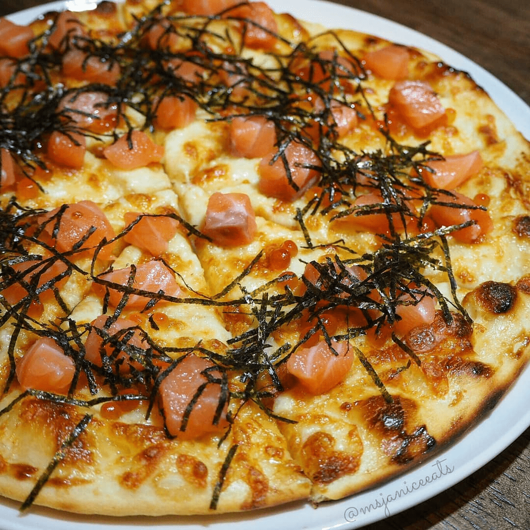 depizza sashimi pizza