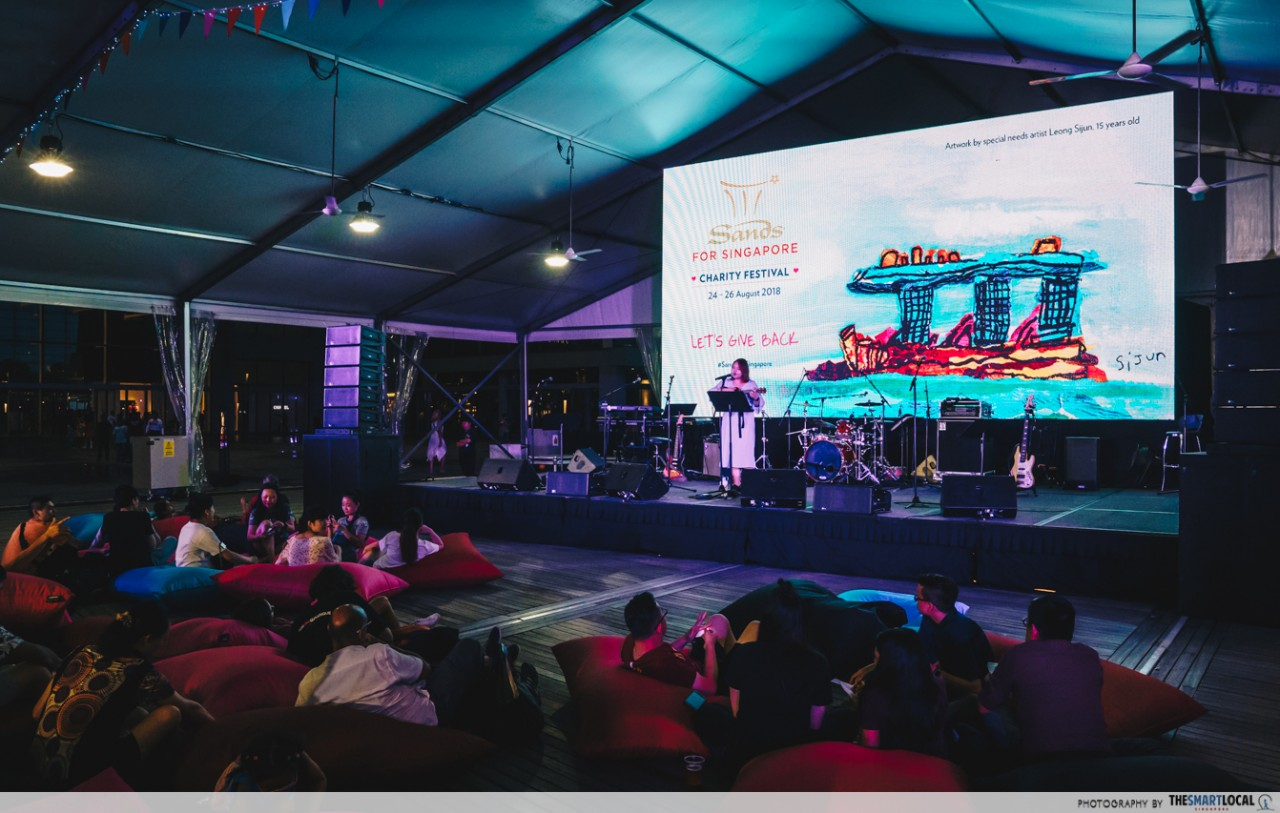Sands for Singapore Charity Festival 2018 - live performances